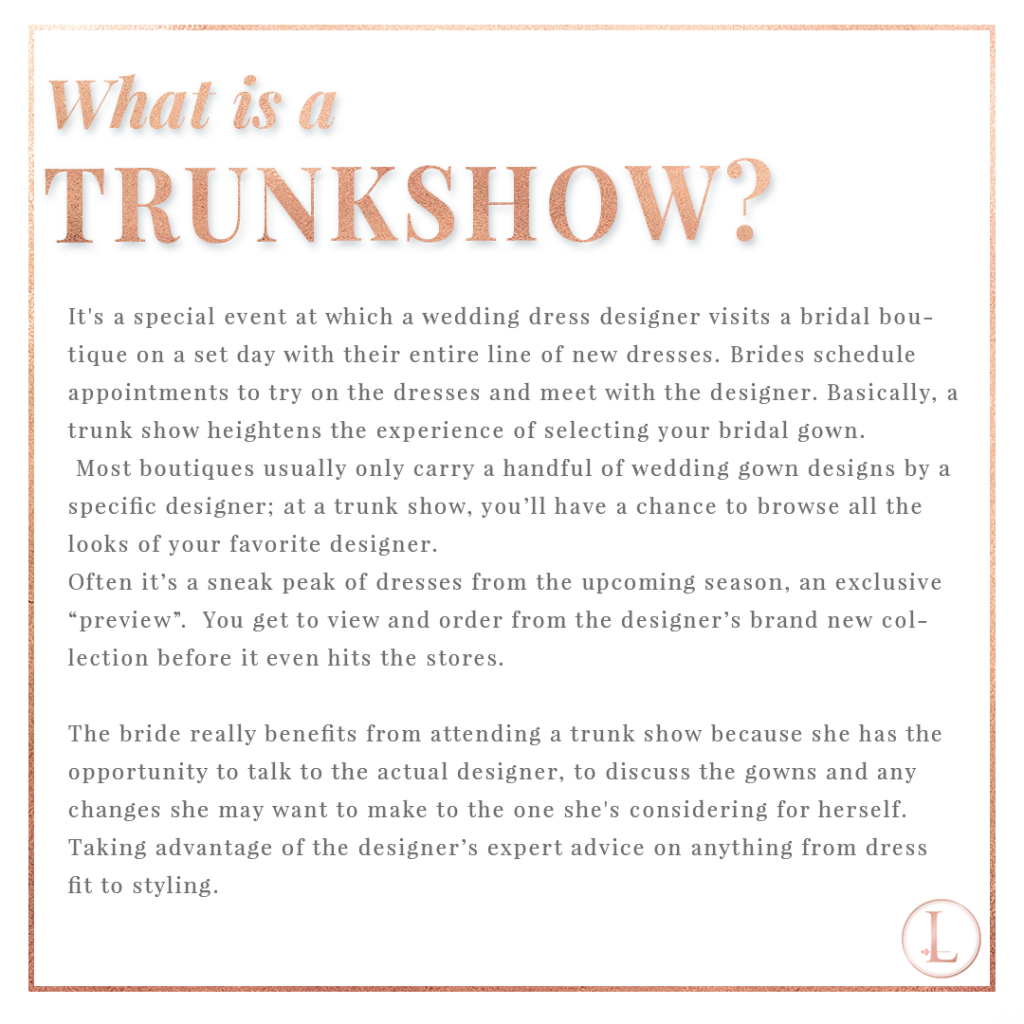 What is a Trunkshow