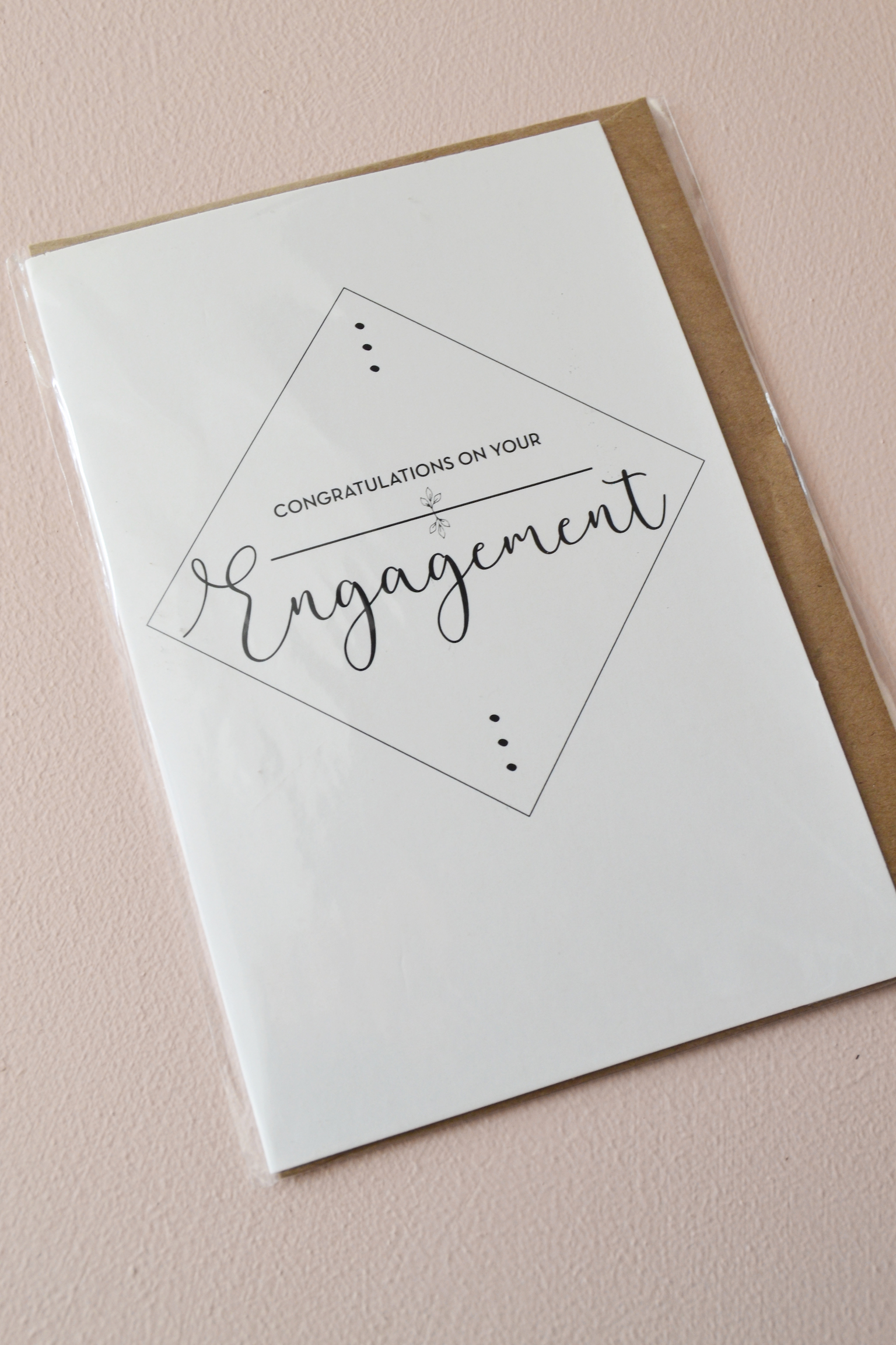Congratulations On Your Engagement Greeting Card Loca Bridal